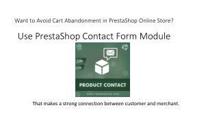 Quick Contact Module Prestashop