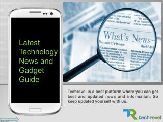 Be Updated Latest Technology News and Information