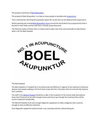 Boel Akupunktur Århus
