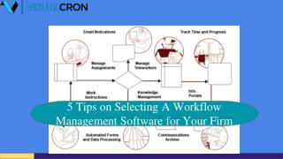 5 Tips on Selecting A Workflow Management Software for Your Firm