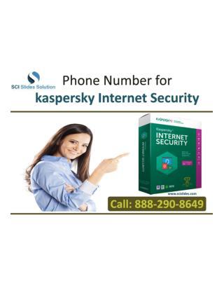 Phone Number for kaspersky Internet Security   888-290-8649