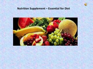 online supplement shop