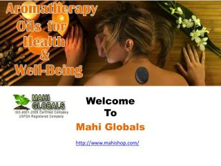 Essential Oils from Mahishop at Wholesale Prices