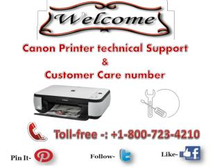 Usa canada 18007234210 canon printer technical support number