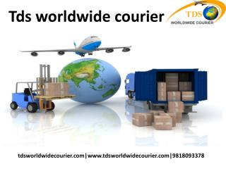 courier to canada from india | tdsworldwidecourier