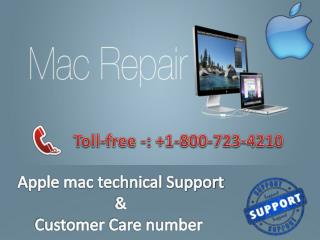 Apple I-mac I-phone Technical Support Number 18007234210