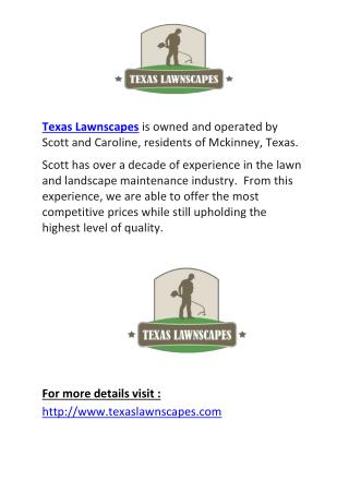 Mckinney Landscaping Services