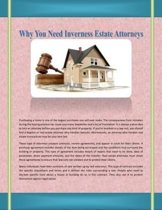 North Barrington Estate Attorneys