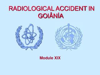 RADIOLOGICAL ACCIDENT IN GOI NIA