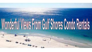 Superb Gulf Shores Condo Rentals