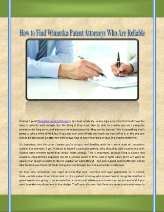 Lake Forest Patent Attorneys