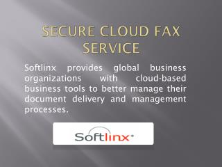 Secure Cloud Fax Service