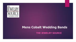 Mens Cobalt Wedding Bands