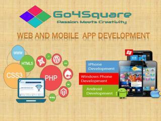 Go4Square| Web Development Services | Mobile App Development