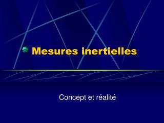 Mesures inertielles