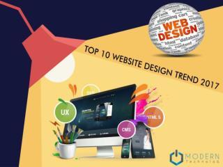 Top 10 Website Design Trend 2017
