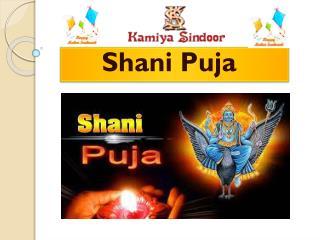 Shani Puja