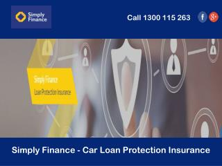 Simply Finance - Car Loan Protection Insurance