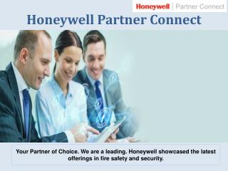 Honeywell Partner Connect - Keeping People Safe