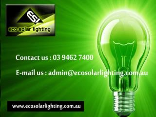 Tennis Court Solar Lighting, Body Corporate Lighting