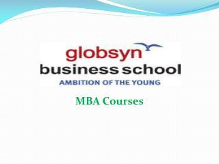 Globsyn Business School - No End To Innovation