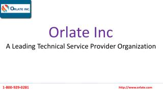 Orlate inc: A Leading Technical Service Provider Organization