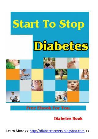 Start to Stop Diabetes