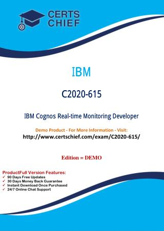 C2020-615 Exam Real Questions with PDF Answers