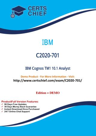 C2020-701 Exam Training Material