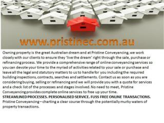 Buying and Selling Property Conveyancer   Refinance Services