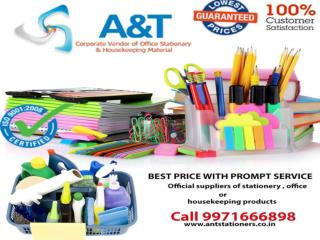 Get the best distributor or supplier of office stationery in Gurgaon.