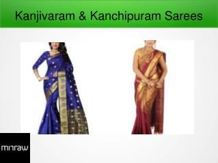 Pure Kanchipuram Silk Sarees - Festive Sarees Online