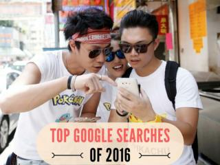 Top Google searches of 2016