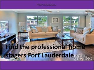 The best vacant home staging service