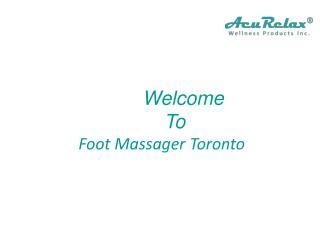 Foot Massager Toronto