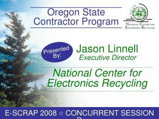 Jason Linnell  Executive Director