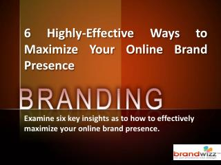 Socio Funda - Six Ways of Online Branding
