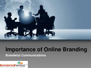 Socio Funda - The Importance of Online Branding