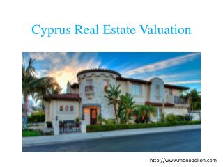 Cyprus real estate Valuation