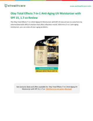 oil of olay total effects 7 in 1 buying guide
