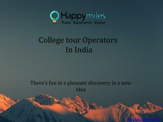 College Tours Trips| Trips For College Students | Industrial Visits
