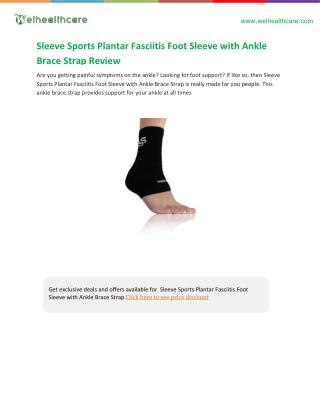 Brace for plantar fasciitis buying guide