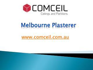 Melbourne Plasterer - www.comceil.com.au