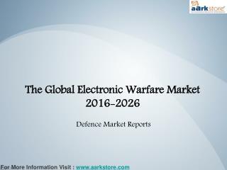 Global Market of Electronic Warfare 2026: Aarkstore