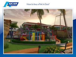 How to buy a flat in Goa?
