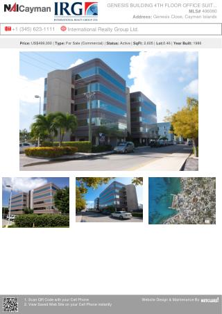 Genesis Building 4th Floor Office Suites - Commercial Property from IRG Cayman