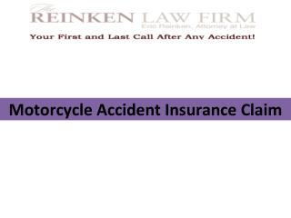 Considerations for a Successful Motorcycle Accident Insurance Claim
