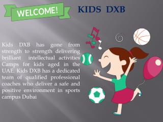 Sports Camps Dubai
