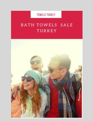 Bath Towels Sale Turkey