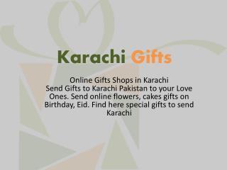 Send Gift in Karachi